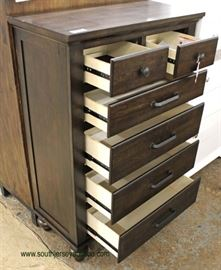 Selection of NEW Contemporary Decorator High Chest & NEW 5 Drawer Barn Wood Style Contemporary High Chest  Located Inside – Auction Estimate $100-$300
