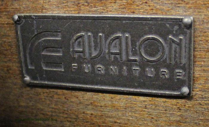"NEW Contemporary ""Avalon Furniture"" 9 Drawer Mahogany Finish Dresser  Located Inside – Auction Estimate $100-$300"