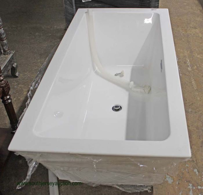 NEW Soaking Tub  Located Inside – Auction Estimate $200-$400