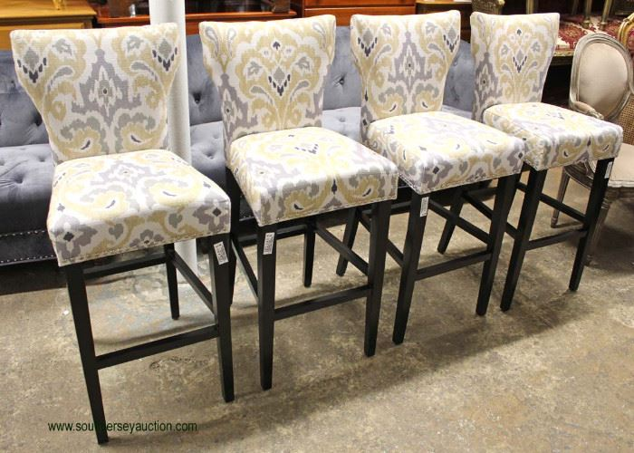SET of 4 Contemporary Bar Stools  Located Inside – Auction Estimate $100-$300