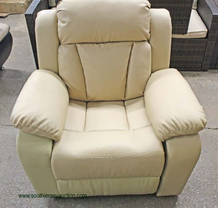 NEW Contemporary Upholstered Club Chair  Located Inside – Auction Estimate $100-$200