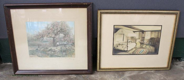 """Selection of """"Wallace Nutting"""" Prints  Located Inside – Auction Estimate $50-$100"""