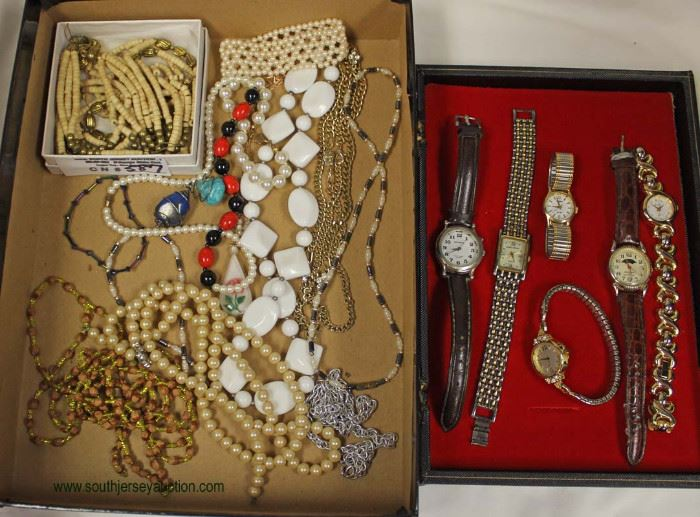 Large Selection Estate Sterling and Costume Jewelry  Located Inside – Auction Estimate $10-$50