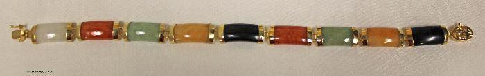 Marked 14K Gold Gem Stone Bracelet  Located Inside – Auction Estimate $20-$60