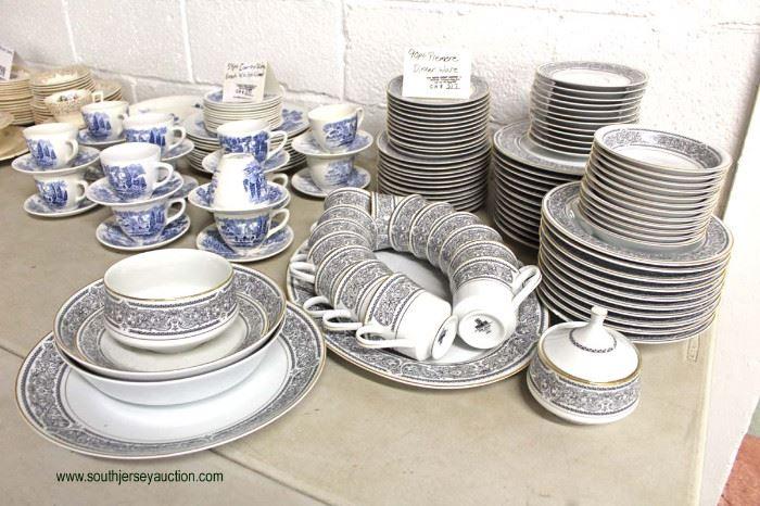"90 Piece ""Premier"" Fine China Japan Dinnerware Set  Located Inside – Auction Estimate $50-$100"