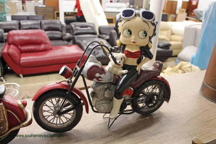 Selection of COOL Decorator Betty Boob and other on Cycle  Located Inside – Auction Estimate $20-$50