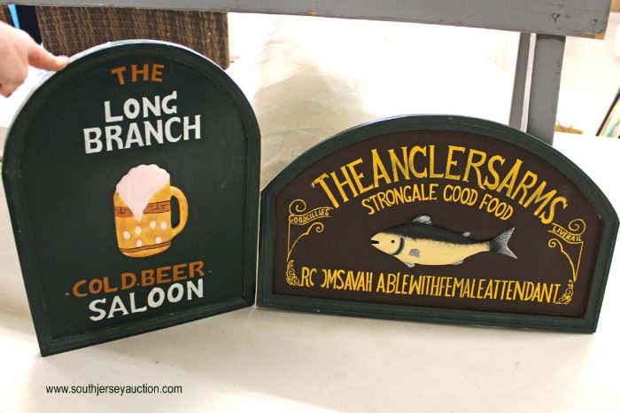 Selection of Advertising Signs  Located Inside – Auction Estimate $20-$50
