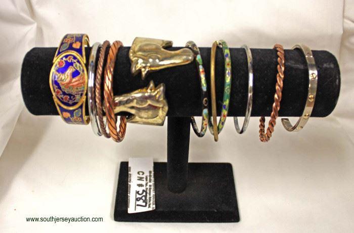Selection of Costume Bracelets  Auction Estimate $100-$40 – Located Inside