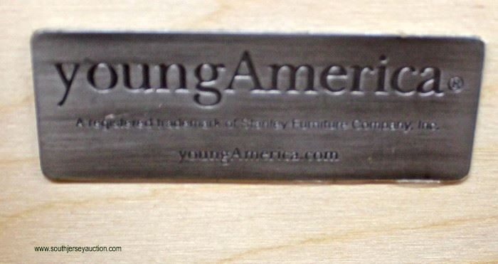 """Cherry """"Young America by Stanley"""" Contemporary Lingerie Chest  Auction Estimate $200-$400 – Located Inside"""