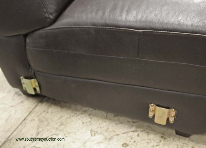 """LIKE NEW 3 Piece Contemporary Leather """"Creative Furniture Inc."""" Sectional Sofa Set  Auction Estimate $300-$600 – Located Inside"""