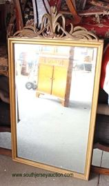 One of Several Decorator Mirror's  Auction Estimate $50-$100 – Located Dock