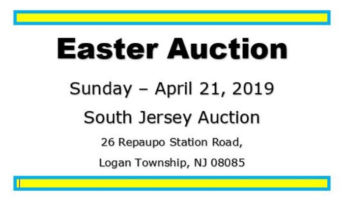 easter auction cover