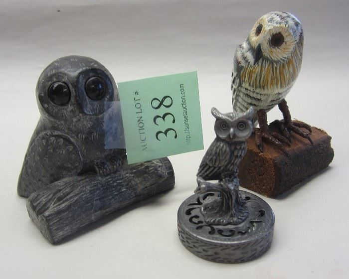 Collection of small owls