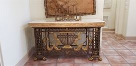 Maitland Smith console table, entryway table