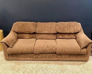 Comfy Tan Sofa