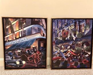 Canvas Giclee, Victor Ostrovsky, well framed