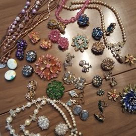 LOTS of vintage custom jewelry