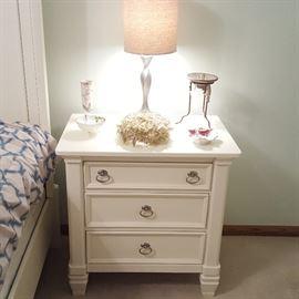 Nightstand (part of 4-piece Ashley Furniture king bedroom set)