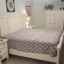 Newer 4-piece Ashley Furniture king bedroom set