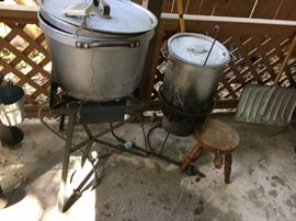More specialty cookers/fryers