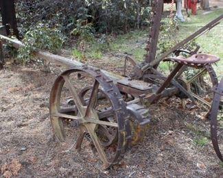 Case horse drawn sickle bar mower