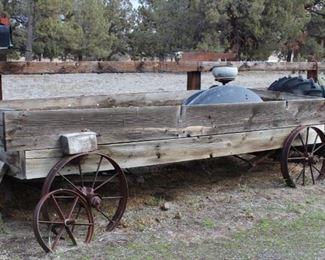 Antique freight wagon