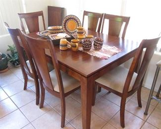 "Dining Room Table/6-Chairs, 1-18"" Leaf"