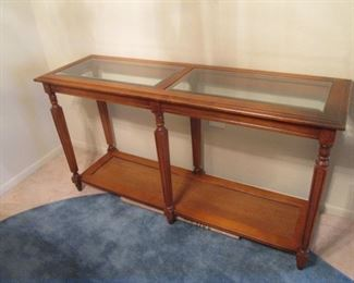 """Thomasville Matching Console Table, 52"""" X 16"""""""