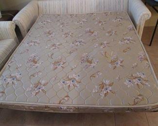 Sleeper Sofa Mattress Detail