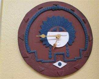 Southwest Style Wall Clock