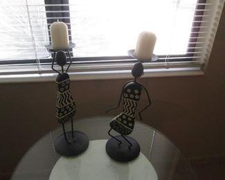 Sculptural Candlesticks