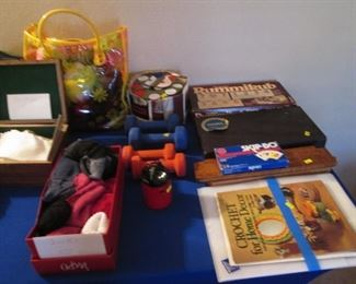 Games, Weights, Craft Materials