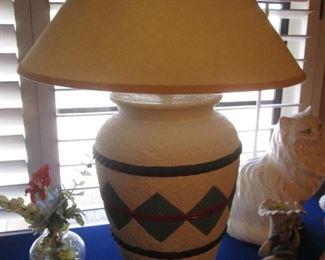 Southwest-Style Lamps