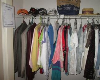 Ladies Clothing and some Men's Items