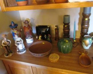 Figurines, Pottery, Wood, Ceramic & Small Treasures
