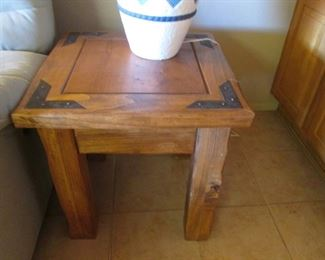 """Matching End Table, 24"""" X 24"""""""