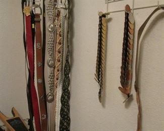 Western Belts & Hat Accessories
