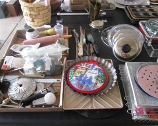 Pots & Pans, Cutlery, Baking Items