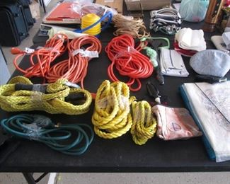Ropes & Electrical