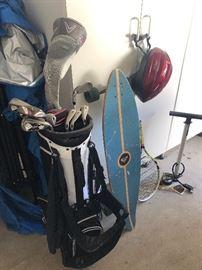 Callaway Golf clubs - Roxy long skatebard
