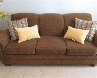 Sofa Sleeper by La-Z-Boy with Blow-Up Mattress