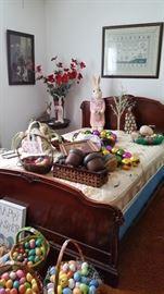Easter , full bed