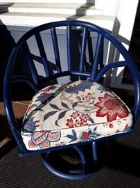 Painted bamboo Chair