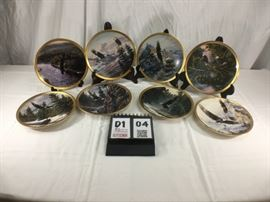 Lenox Fine Ivory China, Eagle Conservation Plate Collection