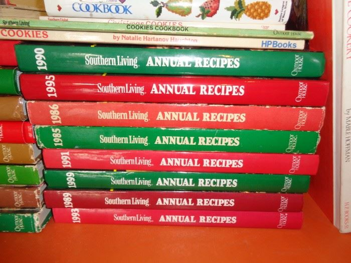 Southern Living Cookbook Collection