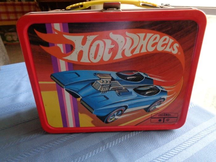 Hot Wheels Lunch Box