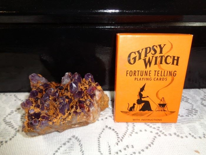Fortune Cards and Crystal