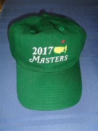 2017 Masters Golf Hat