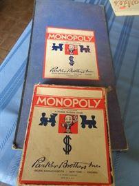 Vintage Monopoly Game
