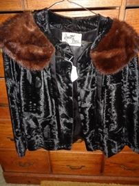 Vintage Frost Brothers Fur Coat